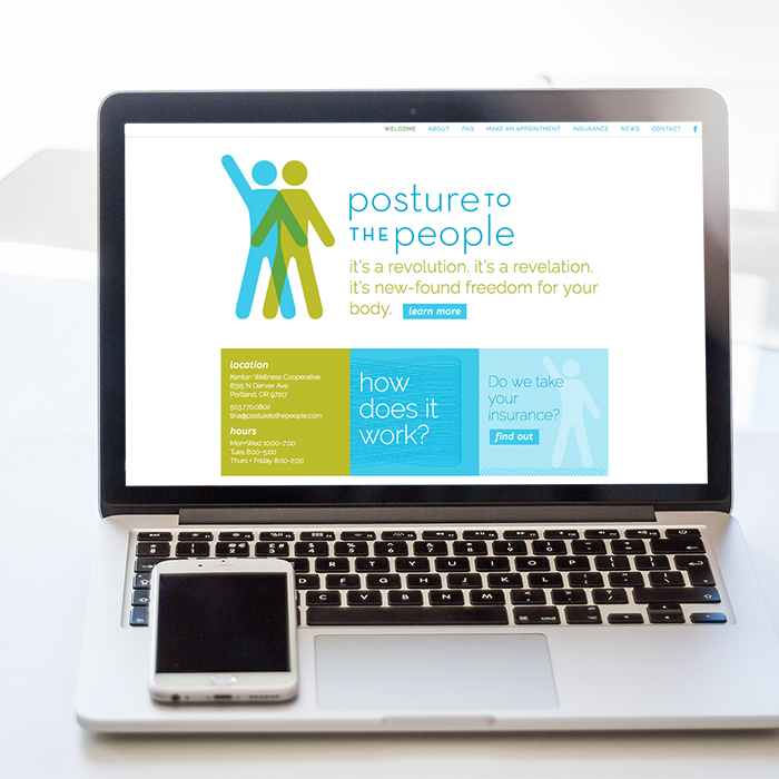 Posture to the People web development